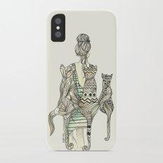 animalia cat iPhone X Slim Case