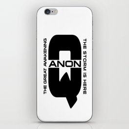 QANON iPhone Skin