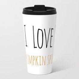 PS I Love you - Pumpkin Spice Travel Mug
