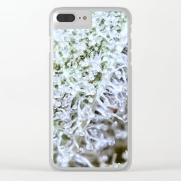 Full Trichomes Clear iPhone Case