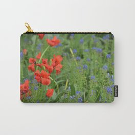 Red versus Blue Carry-All Pouch