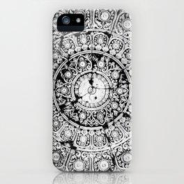 BLACK & WHITE MANDALA ARMARRI GRISA iPhone Case