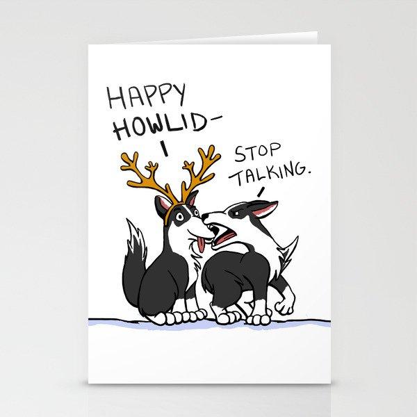 Happy Howlidays Stationery Cards