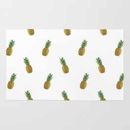 Pineapples Summer Rug