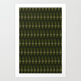 Pickle Party Art Print