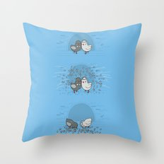And then they blew up Throw Pillow