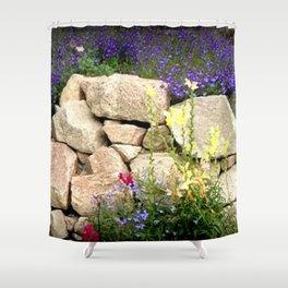 Rock Garden Shower Curtain