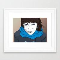 daria Framed Art Prints featuring DARIA by ketizoloto