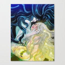 Death & Life Canvas Print