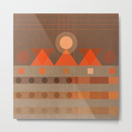 Geometric/Abstract 11 Metal Print