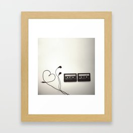 Feel the Music - 3 Framed Art Print