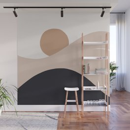 Abstraction_SUN_BODY_LANDSCAPE_Minimalism_002 Wall Mural