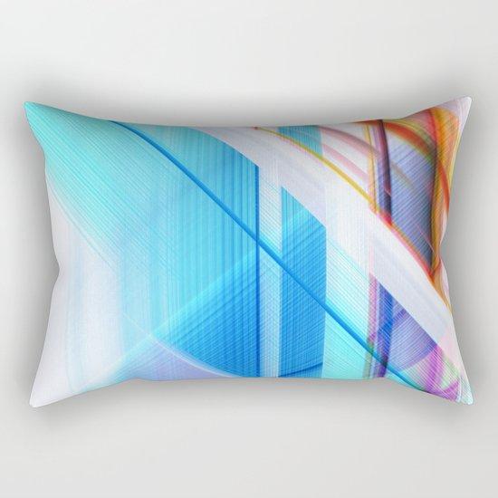 blue elevator Rectangular Pillow