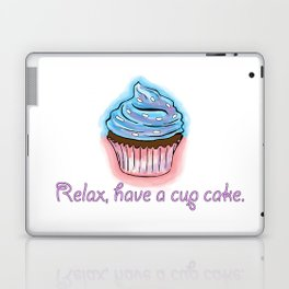 Relax, have a cup cake. Laptop & iPad Skin