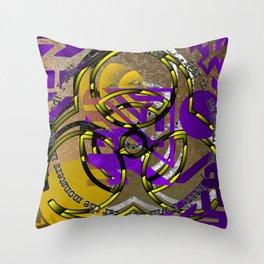 monstrous mental fear Throw Pillow