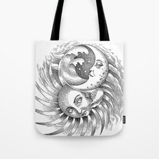 Moon and Sun Tote Bag