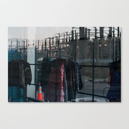 Juxtaposed  Canvas Print