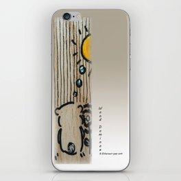 Wood Dominoes - #5 iPhone Skin