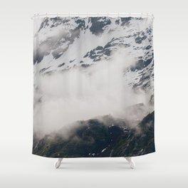 Alaska Glacier Bay National Park Shower Curtain