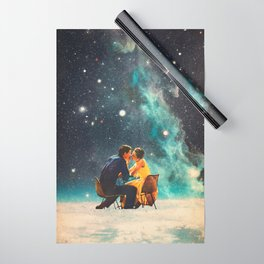 I'll Take you to the Stars for a second Date Wrapping Paper