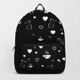 Tea Valentine's Day Heart Tealover Gift Backpack
