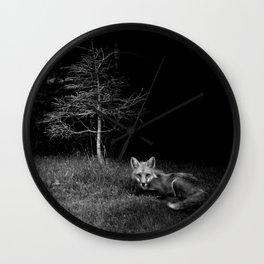 Foxpeek Wall Clock