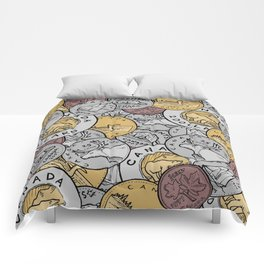 Canadian Coins Comforters