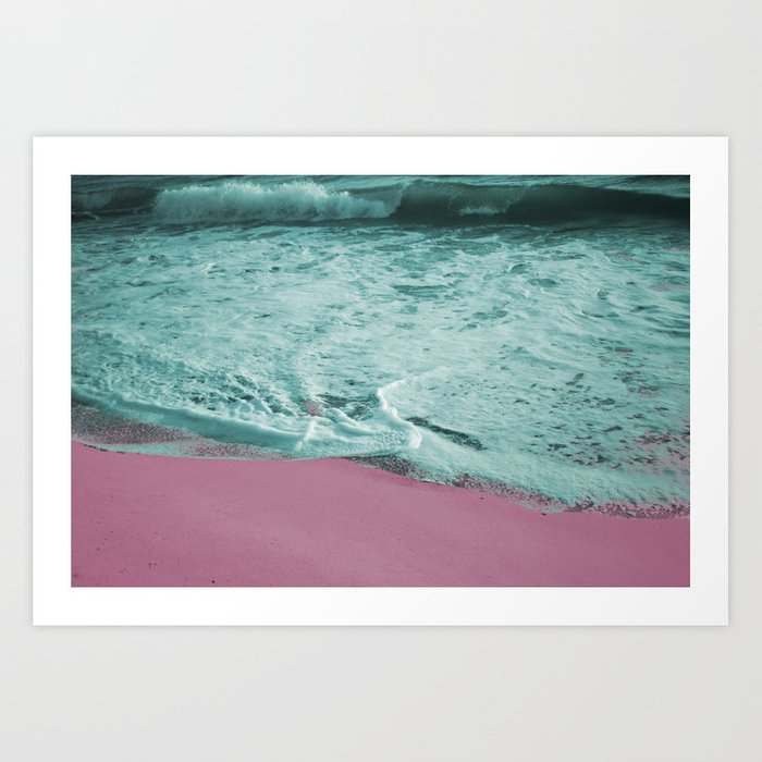 Pop Art High Tide Art Print