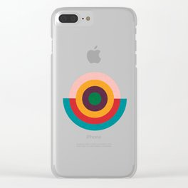 Solaris #homedecor #midcenturydecor Clear iPhone Case