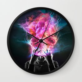 Mind Explosion Wall Clock