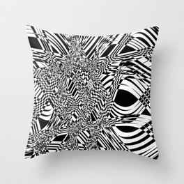 Energy Concentration Throw Pillow