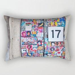 The Secret behind the Door Number 17 of Catania - Sicily Rectangular Pillow