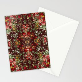 Chintz flowers pattern from the Industrial arts of the Nineteenth Century by Sir Matthew Digby wyatt Stationery Cards