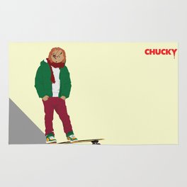 CHUCKY - Modern outfit version Rug