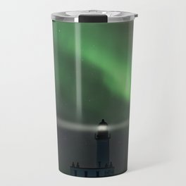 When the northern light appears Travel Mug