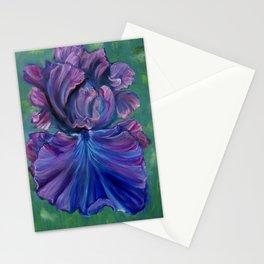 Magenta Iris Stationery Cards