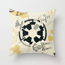 Star Wars Imperial shield Throw Pillow
