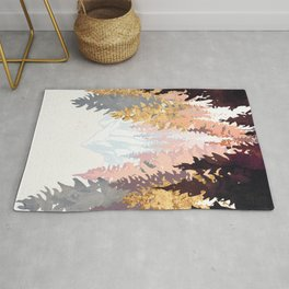 Wine Forest Rug