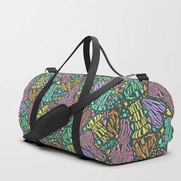 Alice in Wonderland in Type Duffle Bag