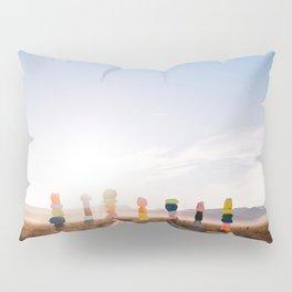 Seven Magic Mountains Sunrise V Pillow Sham