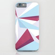 Maroon & sky  iPhone 6s Slim Case