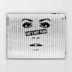 SHE'S NOT YEAH 07 Laptop & iPad Skin