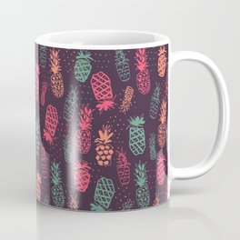 Pineapple Pattern Coffee Mug