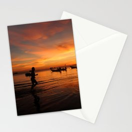 Sunrise on Koh Tao Island in Thailand Stationery Cards