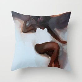 Chocolat Throw Pillow