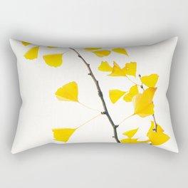gingko biloba branch Rectangular Pillow