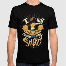 My Shot MEDIUM Black Mens Fitted Tee