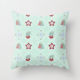 Christmas pattern.2 Throw Pillow