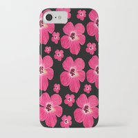 hibiscus iPhone & iPod Cases featuring Hibiscus   by maggs326