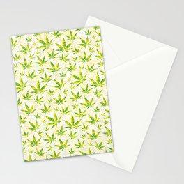 Weed OG Kush Pattern Stationery Cards